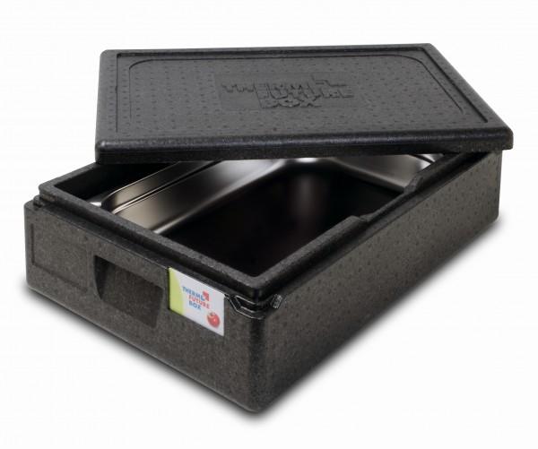 Thermobox GN 1/1 ECO im Anwendungsbeispiel mit GN-Behälter