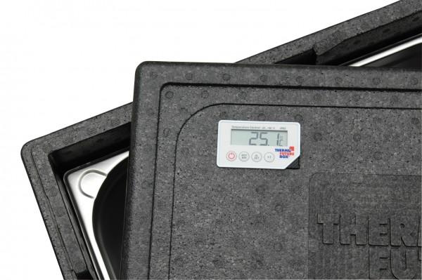 Gastronorm 1/1 Deckel mit Thermometer -30 bis +90°C