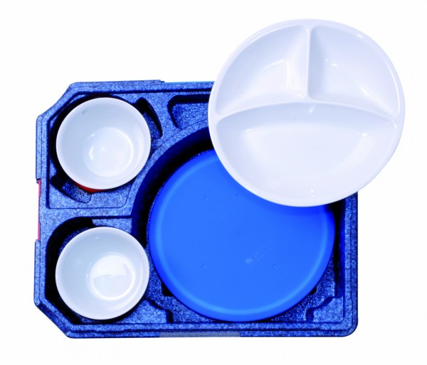 Silikondeckel für Porzellan-Teller rund für 30110