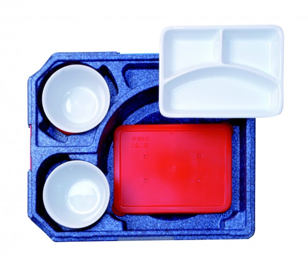 Silikondeckel für Porzellanschale eckig für 30010
