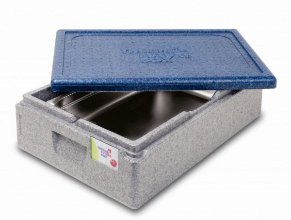 Thermobox GN 1/1 im Anwendungsbeispiel mit GN-Behälter